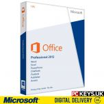 Microsoft Office 2013 Professional 1 PC Product License Key
