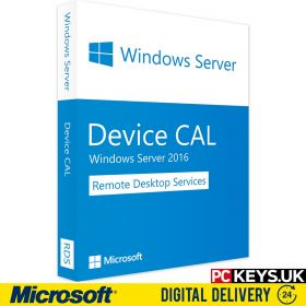 Microsoft Windows Server 2016 Remote Desktop Services 10 DEVICE CALS