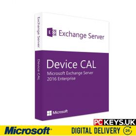 Microsoft Exchange Server 2016 Enterprise 10 DEVICE CALS