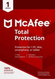 McAfee Total Protection 2019 Internet Security Device Subscription