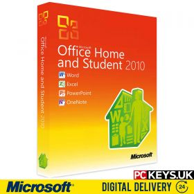 Microsoft Office 2010 Home & Student 1 PC Product License Key