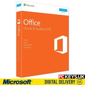 Microsoft Office 2016 Home & Student 1 PC Product License Key