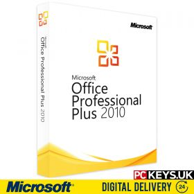 Microsoft Office 2010 Professional Plus 1 PC Product License Key