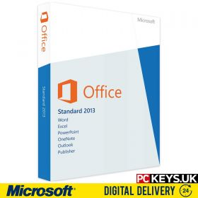 Microsoft Office 2013 Standard 1 PC Product License Key