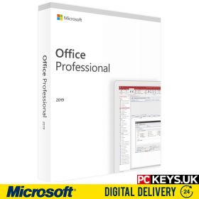 Microsoft Office 2019 Professional 1 PC Product License Key
