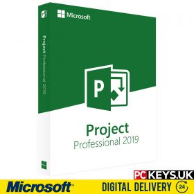 Microsoft Project Professional 2019 1 PC Product License Key