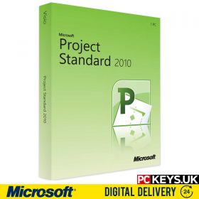 Microsoft Project Standard 2010 1 PC Product License Key
