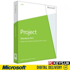 Microsoft Project Standard 2013 1 PC Product License Key