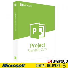 Microsoft Project Standard 2019 1 PC Product License Key