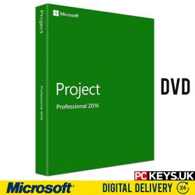 Microsoft Project Professional 2016 DVD