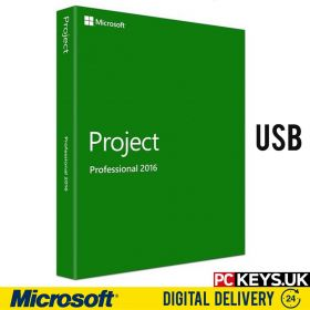 Microsoft Project Professional 2016 USB