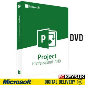 Microsoft Project 2019 Professional DVD