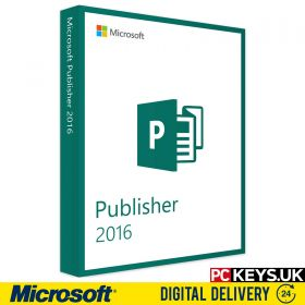 Microsoft Publisher 2016 1 PC License Key