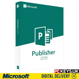 Microsoft Publisher 2019 1 PC License Key
