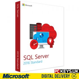 Microsoft SQL Server 2016 Single Product License Key