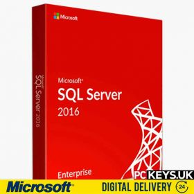 Microsoft SQL 2016 Enterprise 16 Core