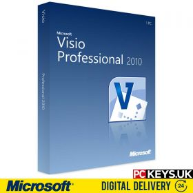 Microsoft Visio Professional 2010 1 PC Product License Key