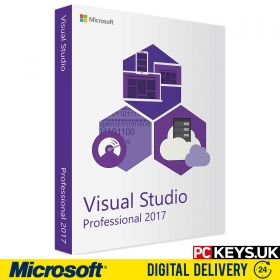 Microsoft Visual Studio 2017 Professional Product License Key