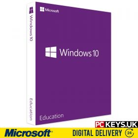 Windows 10 Education 1 PC Product License Key