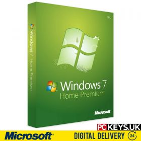 Microsoft Windows 7 Home Premium 1 PC Product License Key