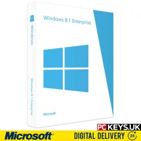 Microsoft Windows 8.1 Enterprise 1 PC Product License Key