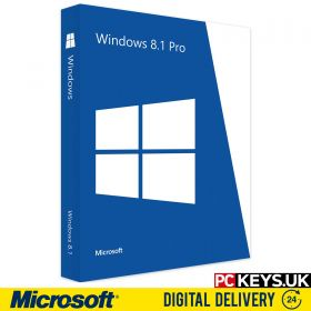 Microsoft Windows 8.1 Professional 1 PC Product License Key