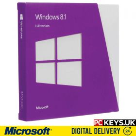 Microsoft Windows 8.1  1 PC Product License Key