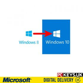 Microsoft Windows 8 to Windows 10 Professional Upgrade