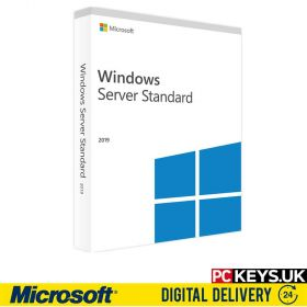 Microsoft Windows Server 2019 Standard 16 Cores 1 Device Product License Key