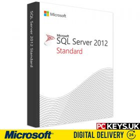 Microsoft SQL Server 2012 Single Product License Key