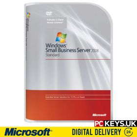 Microsoft Windows Small Business Server 2008 Standard Product License Key