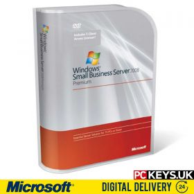Microsoft Windows Small Business Server 2008 Premium Product License Key