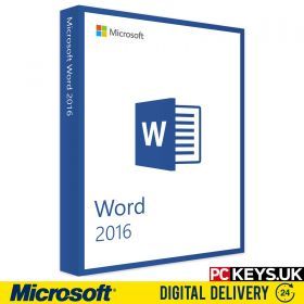 Microsoft Word 2016 1 PC License Key