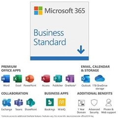 Microsoft Office 365 Business Premium 1 Year PC / Mac