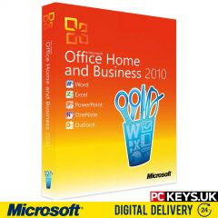 Microsoft Office 2010 Home & Business 1 PC Product License Key