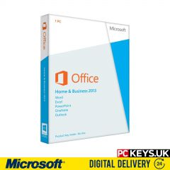Microsoft Office 2013 Home & Business 1 PC Product License Key