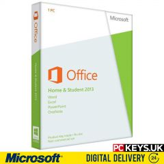 Microsoft Office 2013 Home & Student 1 PC Product License Key