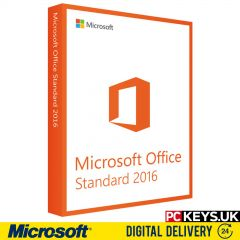 Microsoft Office 2016 Standard 1 PC Product License Key