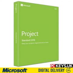 Microsoft Project Standard 2016 1 PC Product License Key