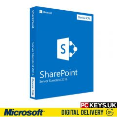 Microsoft SharePoint Server 2016 Standard 10 DEVICE CALS