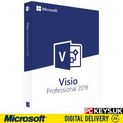 Microsoft Visio Professional 2019 1 PC Product License Key