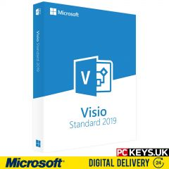 Microsoft Visio Standard 2019 1 PC Product License Key