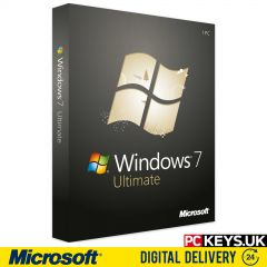 Microsoft Windows 7 Ultimate 1 PC Product License Key