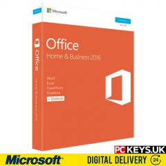 Microsoft Office 2016 Home & Business 1 PC Product License Key