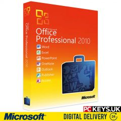 Microsoft Office 2010 Professional 1 PC Product License Key