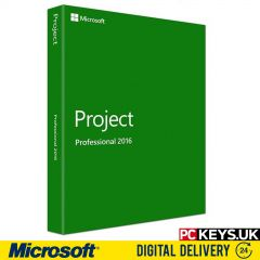 Microsoft Project Professional 2016 1 PC Product License Key