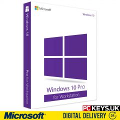 Windows 10 Pro for Workstation 1 PC Product License Key