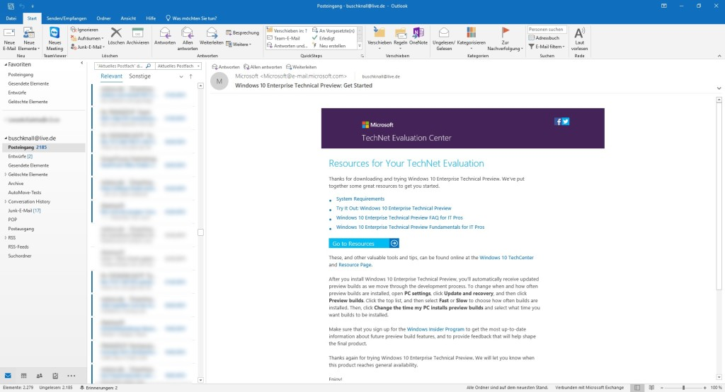 Microsoft Outlook 2019 license