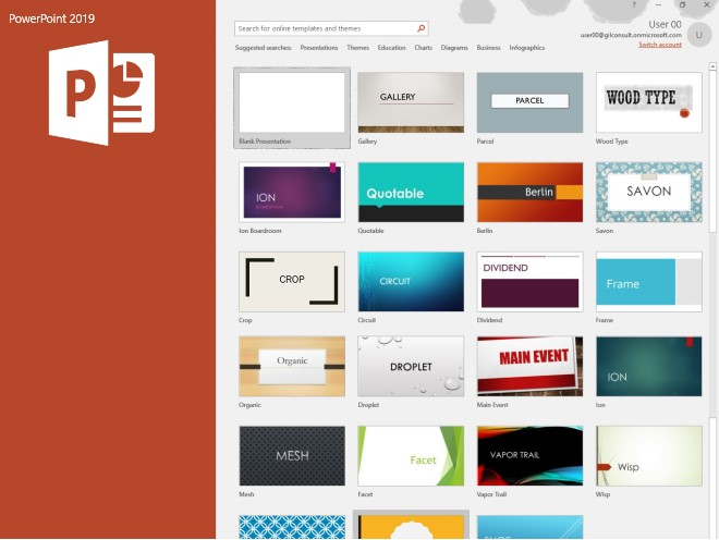 PowerPoint 2019 Templates