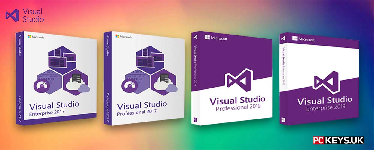 Visual Studio software banner